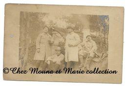 WWI - REGIMENT - ALBERT DUBREUIL POUR LA HAUTE SAONE- CARTE PHOTO MILITAIRE CPA - Guerre 1914-18