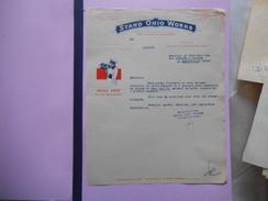 PARIS STAND OHIO WORKS HUILE OHIO POUR MOTEURS 28 RUE DE CHATEAUDUN COURRIER DU 6/12/32 - 1900 – 1949