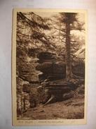 Carte Postal Saint Die (88) Rocher Du Cailloux ( Petit Format Correspondance 1941 ) - Saint Die
