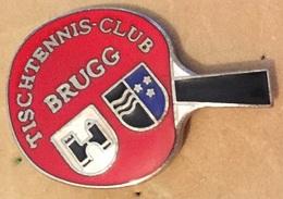 TISCHTENNIS CLUB BRUGG - SCHWEIZ - CLUB DE TENNIS DE TABLE - SUISSE - PING PONG . RAQUETTE - ARGOVIE  -    (16) - Table Tennis