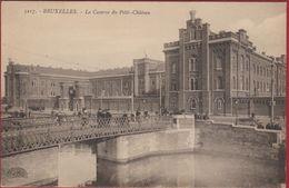 La Caserne Du Petit-Château Armee Belge Belgisch Leger Kazerne Molenbeek-Saint-Jean-Bruxelles Geanimeerd Animee RARE - Maritime