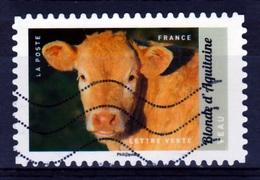 France, Domestic Animal, Calf, 2017, VFU Self-adhesive - Used Stamps