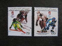 Comores:  TB Paire N° 519 Et N°520, Neufs XX. - Comores (1975-...)