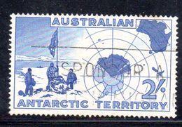 XP3485 - AUSTRALIA TERRITORIO ANTARTICO , Yvert N. 1 Usato - Territorio Antartico Australiano (AAT)