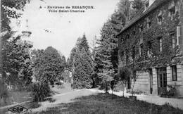 CPA De BEURE (Doubs) Environs De Besançon. Villa Saint-Charles. Edition CLB. Numéro 4. Circulée En 1926. B état. - France