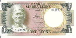 SIERRA LEONE 1 LEONE 1984 UNC P 5 E - Sierra Leone