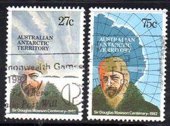XP3486 - AUSTRALIA TERRITORIO ANTARTICO , Yvert N. 53/54  Mawson  Usata - Usati