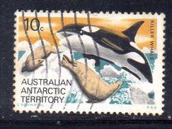 XP3488 - AUSTRALIA TERRITORIO ANTARTICO , Yvert N. 73  Balena  Usata - Usati