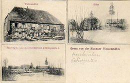 CPA - HARSKIRCHEN (67) - SCHOPPERTEN KLÜSS - WALZENMÜHLE - Carte Multi-Vues De 1907 - Francia