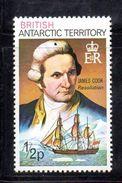 XP3489 - TERRITORIO ANTARTICO BRITANNICO , 1/2 P. Yvert N. 45  **  MNH . ORDINARIA - Territorio Antartico Britannico  (BAT)