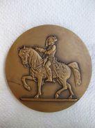 Médaille Ecole Speciale Militaire De Saint-Cyr. Ecole Militaire Interarmes. - Militaria