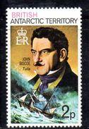 XP3491 - TERRITORIO ANTARTICO BRITANNICO , 2 P. Yvert N. 48  **  MNH . ORDINARIA - Territorio Antartico Britannico  (BAT)