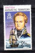 XP3492 - TERRITORIO ANTARTICO BRITANNICO , 21/2 P. Yvert N. 49  **  MNH . ORDINARIA - Territorio Antartico Britannico  (BAT)