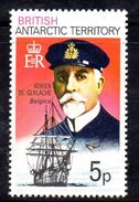 XP3495 - TERRITORIO ANTARTICO BRITANNICO , 5 P. Yvert N. 52  **  MNH . ORDINARIA - Territorio Antartico Britannico  (BAT)