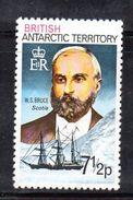 XP3497 - TERRITORIO ANTARTICO BRITANNICO , 7 1/2 P. Yvert N. 54  **  MNH . ORDINARIA - Territorio Antartico Britannico  (BAT)