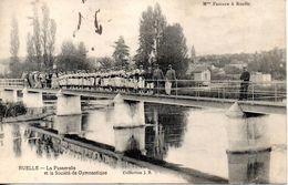 RUELLE -  LA PASSERELLE Et LA SOCIETE De GYMNASTIQUE - - Frankrijk