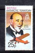 XP3500 - TERRITORIO ANTARTICO BRITANNICO , 25 P. Yvert N. 57  **  MNH . ORDINARIA - Territorio Antartico Britannico  (BAT)