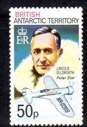 XP3501 - TERRITORIO ANTARTICO BRITANNICO , 50 P. Yvert N. 58  **  MNH . ORDINARIA  Ellsworth - Territorio Antartico Britannico  (BAT)