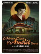 """Cinéma . Affiche De Film . """" Le Fabuleux Destin D'Amélie Poulain """" . Audrey Tautou, Mathieu Kassovitz - Réf. N°4603 - - Affiches Sur Carte"""