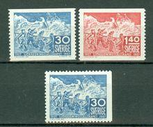 Sverige 1957 Yv. 414/415**, 414a**  MNH Cote Yv. € 13,50 - Suède