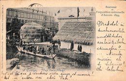 Anvers - Expo 1894 - Congo - Vue Du Village (top Animation, Charles Bernhoeft, 1899) - Antwerpen