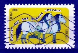 "France, Proverb, ""Monter Sur Ses Grands Chevaux"", 2016, VFU Self-adhesive - Frankrijk"