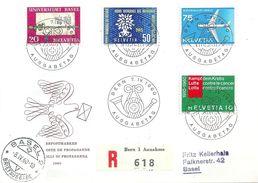 """R FDC  """"Werbepostmarken""""             1960 - Schweiz"""