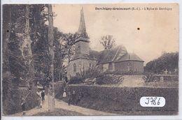 DERCHIGNY-GRAINCOURT- L EGLISE DE DERCHIGNY - France