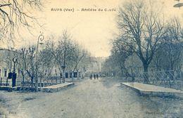 83 - Aups - Arrivée Du Cours - Aups