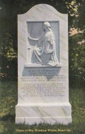 Georgia Rome Grave Of Mrs Woodrow Wilson Curteich