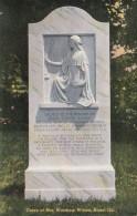 Georgia Rome Grave Of Mrs Woodrow Wilson Curteich - Etats-Unis