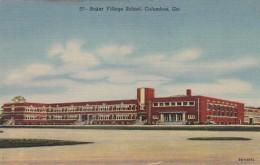 Georgia Columbus Baker Village School Curteich