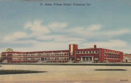 Georgia Columbus Baker Village School Curteich - Columbus