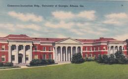 Georgia Athens Commerce-Journalism Building University Of Georgi