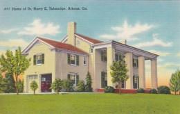 Georgia Athens Home Of Dr Harry E Talmadge