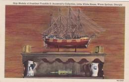 Georgia Warm Springs The Little White House Ship Models Of Presi