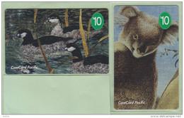 Nauru - 1995 Conservation Set (2) - NAU-1&4 - Specimens/Samples - Nauru