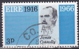 Ireland (1966):- Easter Rising 50th Anniv./James Connolly (3 D):- USED - 1949-... Republic Of Ireland