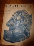 1903 L'ACTUALITE:Victor Hugo;Lancement Du FRANCAIS à Saint-Malo;Embarquement Des Forçats à Alger;Paquebot The Queen;etc - 1900 - 1949