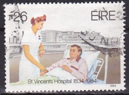 Ireland (1984):- Medical Institutions/St. Vincent Hospitsl (26 P):- USED - Used Stamps