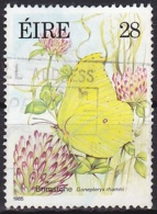 Ireland (1985):- Flora & Fauna 8th Series/Butterflies/Brimstome (28 P):- USED - Used Stamps