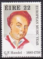 Ireland (1985):- European Music Year/G. F. Handel (22 P):- MNH - Unused Stamps