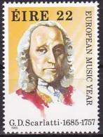Ireland (1985):- European Music Year/G. D. Scarlatti (22 P):- MNH - Unused Stamps