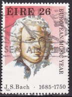 Ireland (1985):- European Music Year/J. S. Bach (26 P):- USED - Used Stamps