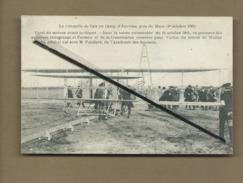 CPA Rétrécit - La Conquête De L'air Au Camp D'Auvours  , Près Le Mans (10 Octobre 1908)-  -(avion,aviation,aviateurs ) - Autres Communes