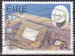 Ireland (1986):- William Mulready Birth Bicentenary (24 P):- USED - Used Stamps