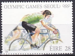 Ireland (1988):- Olympic Games Seoul/Cycling (28 P):- MNH - Unused Stamps