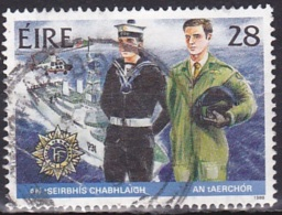Ireland (1988):- Security Forces/Navy & Air Corp (28 P):- USED - Used Stamps