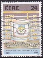 Ireland (1988):- Institute Of Chartered Accontants (24 P):- USED - Used Stamps