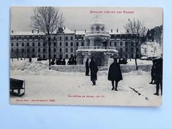 C.P.A. 88 Semaine D' Hiver Des Vosges : Belvédère En Neige, 12è Compagnie - Saint Die